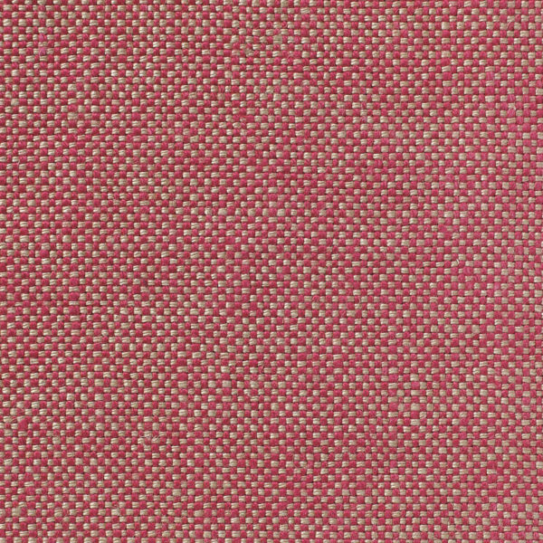 MELISA - Dual Weave Upholstery Linen - Coral & Natural