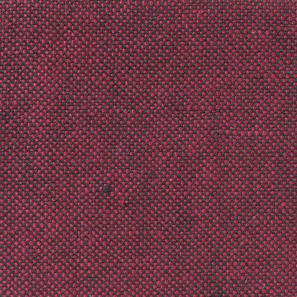 MELISA - Dual Weave Upholstery Linen - Volga Red & Charcoal