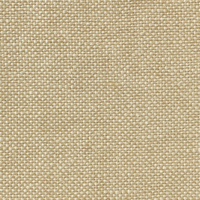 MELISA - Dual Weave Upholstery Linen - Sand & White