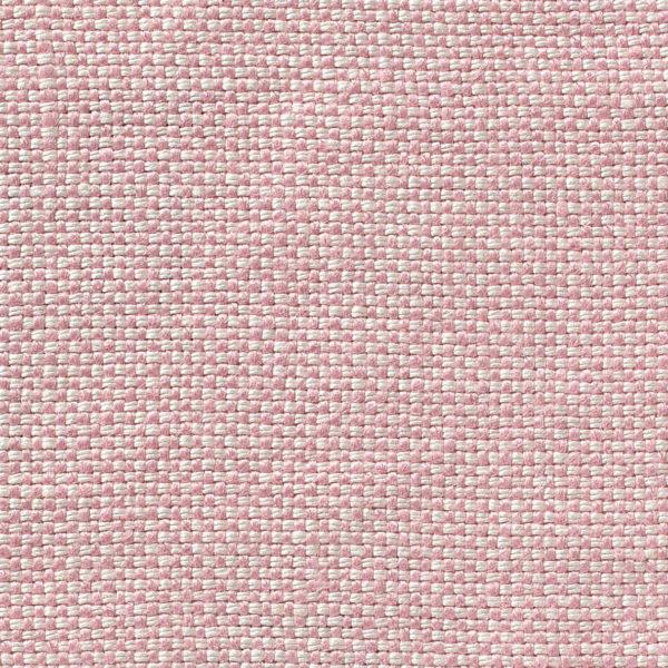 MELISA - Dual Weave Upholstery Linen - Tea Rose & White
