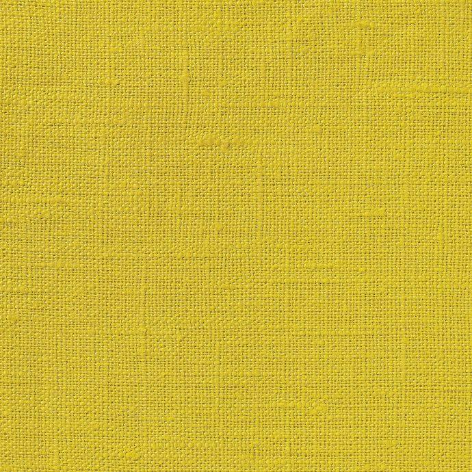 NEVA Plain Weave Linen - Volga Linen - Chinese Yellow
