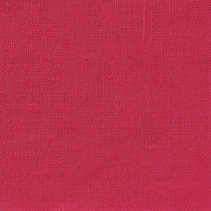 NEVA Plain Weave Linen - Volga Linen - Crimson