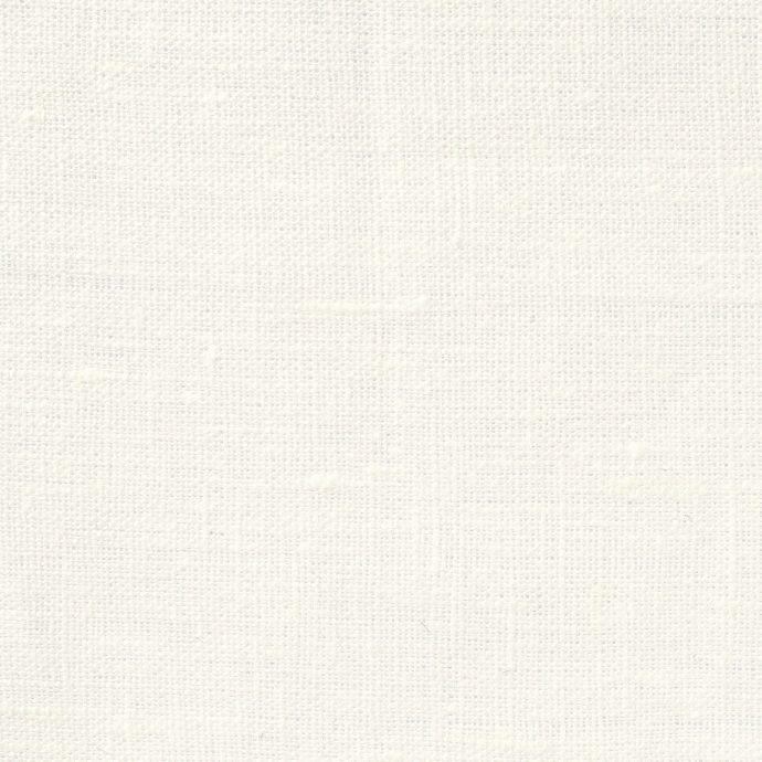 NEVA Plain Weave Linen - Volga Linen - Ivory White