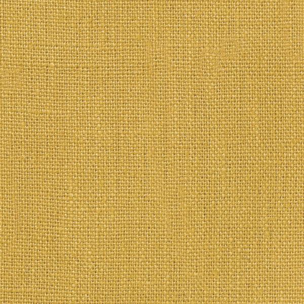 NEVA Plain Weave Linen - Volga Linen - Ochre