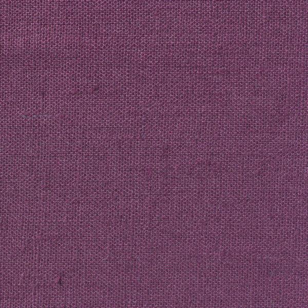NEVA Plain Weave Linen - Volga Linen - Plum