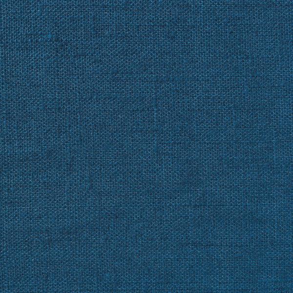NEVA Plain Weave Linen - Volga Linen - Prussian Blue
