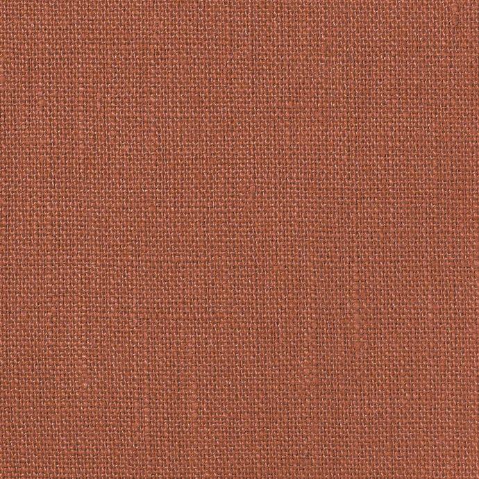 NEVA Plain Weave Linen - Volga Linen - Terracotta