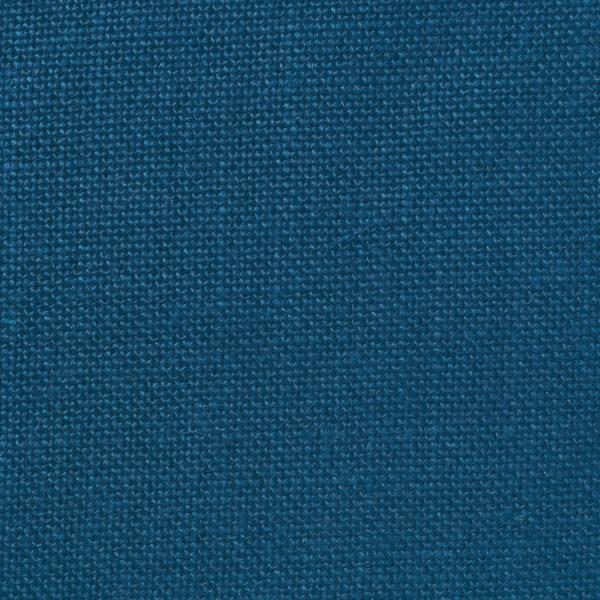 TUVA - Upholstery Plain Weave Linen - Prussian Blue