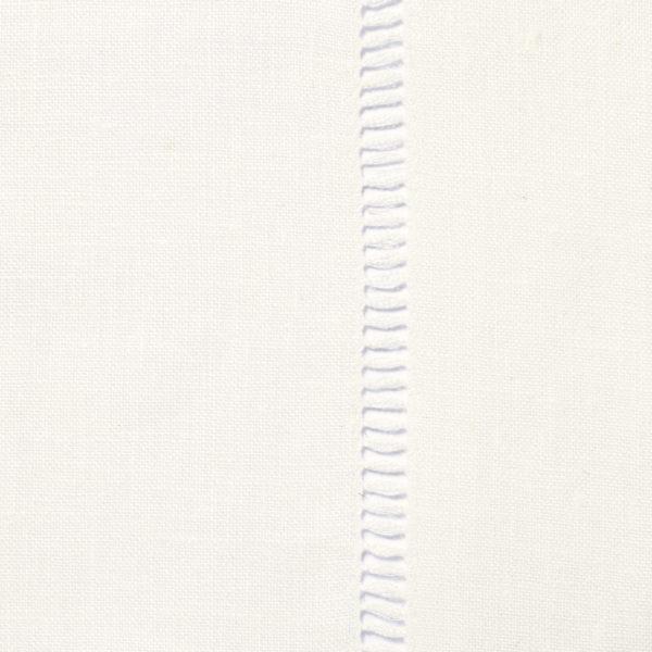 Drawn Thread Fabric - Ladder Stitch Edge - Ivory White