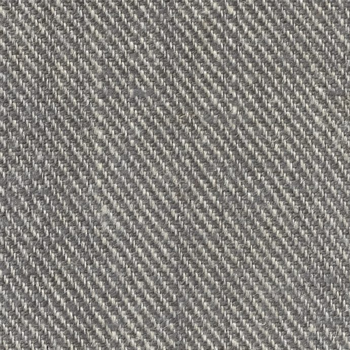 Twill Upholstery Linen - Charcoal