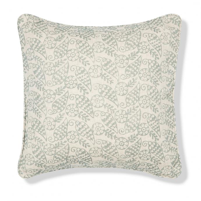 Katya Print Celadon Cushion Cover