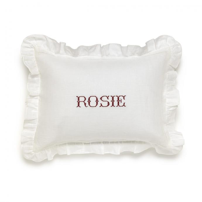 Small Frill Edge Pillowcase