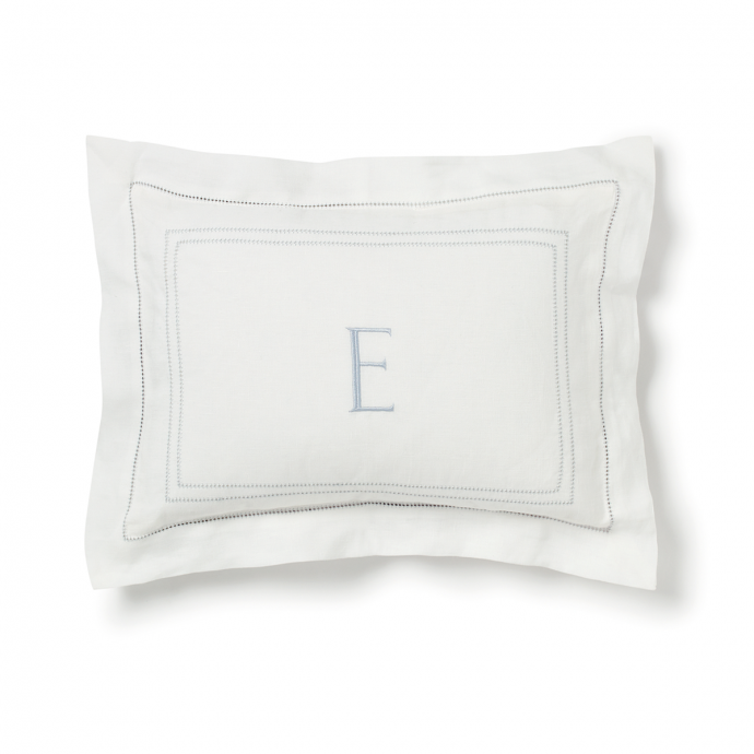 Hemstitch Small Pillowcase - Parma Grey