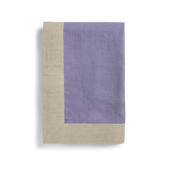 Lilac Linen Throw
