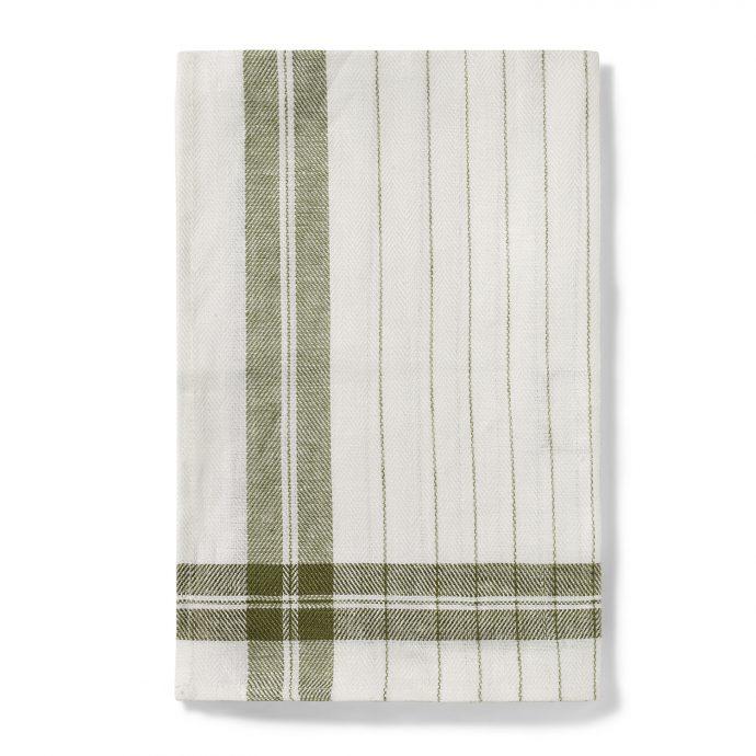 Stripe Kitchen Towel - Fern Green