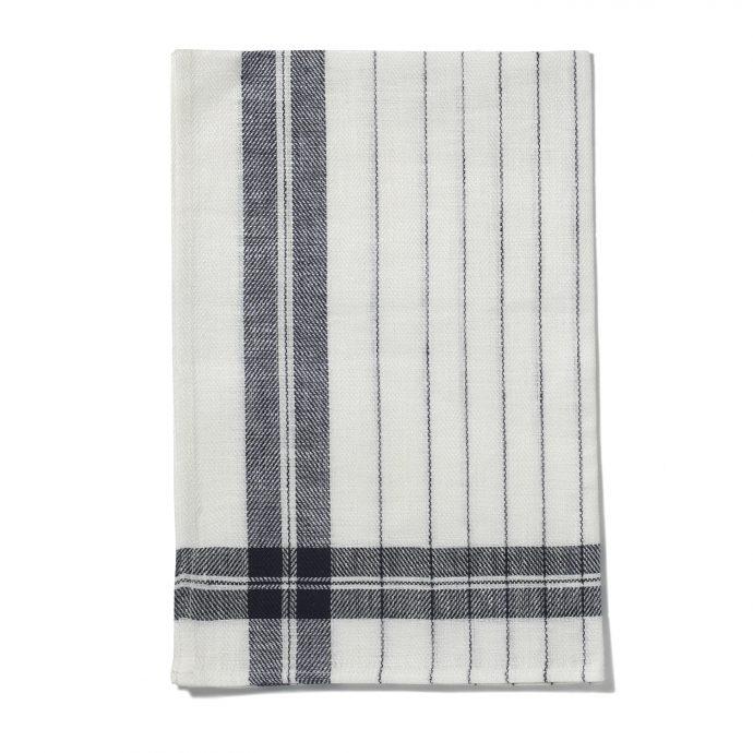 Stripe Kitchen Towel - Ink