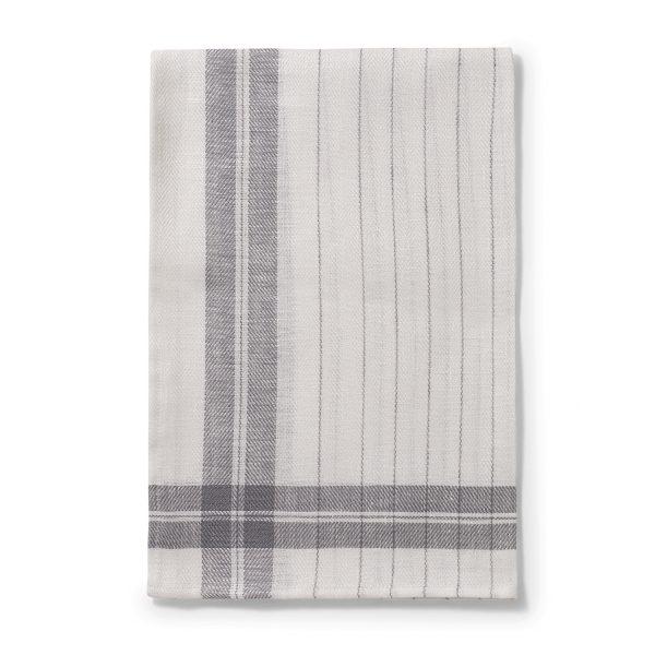 Stripe Kitchen Towel - Slate Grey