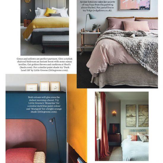 Elle Decor Bedrooms - Tea Rose