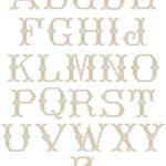 Volga Linen Monogramming - Cross Stitch