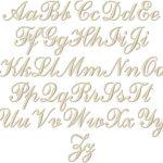 Volga Linen Monogramming - Script