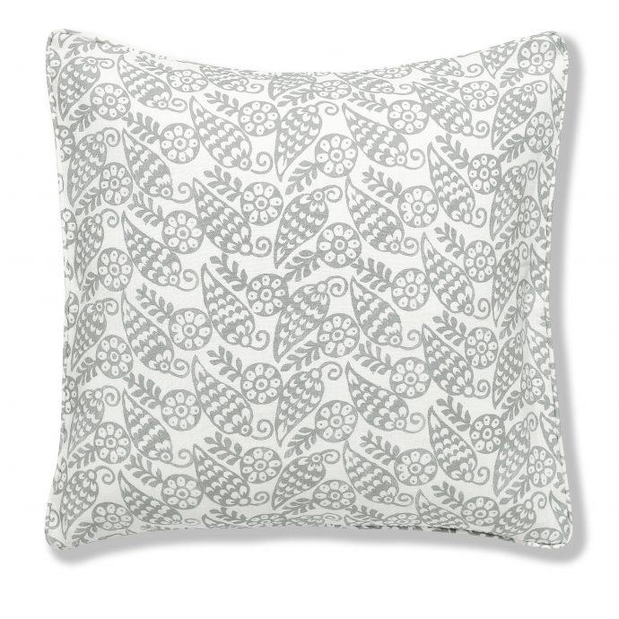 Katya Print Charcoal Cushion Cover