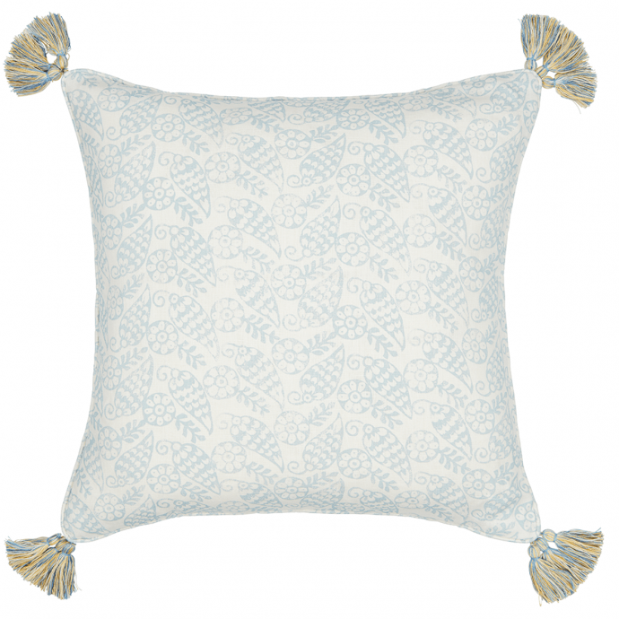 Katya Print Sky Tassel Cushion Cover
