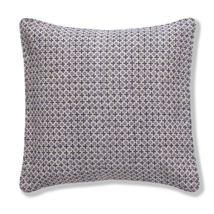 Marusya Print Lilac Cushion Cover