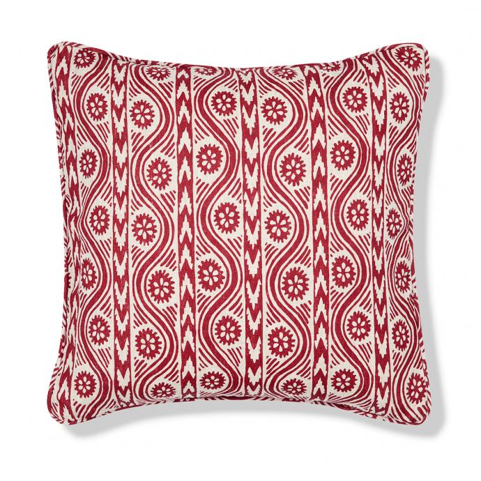 Ruslan Print Red Cushion Cover