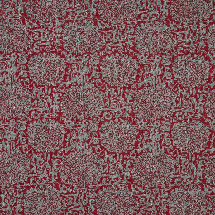 Chrysanthemum, Volga Red & Teal